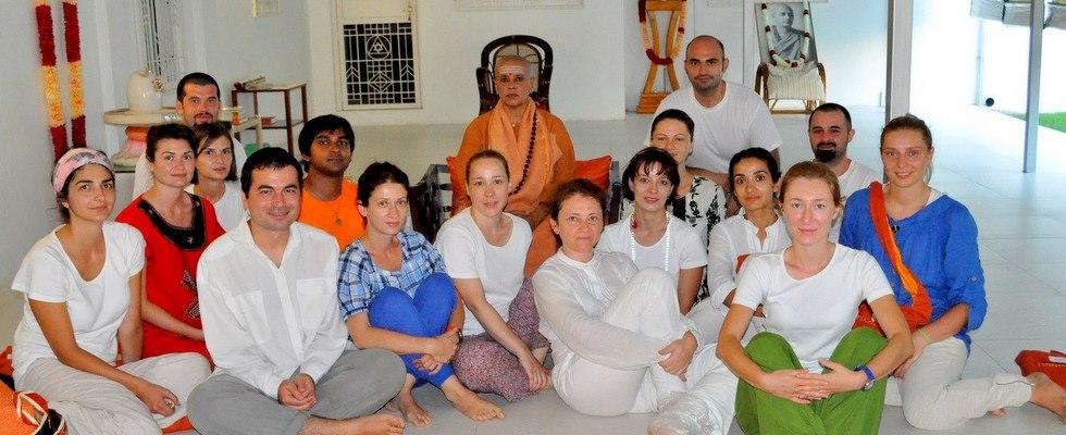 Satyananda Yoga en el mundo