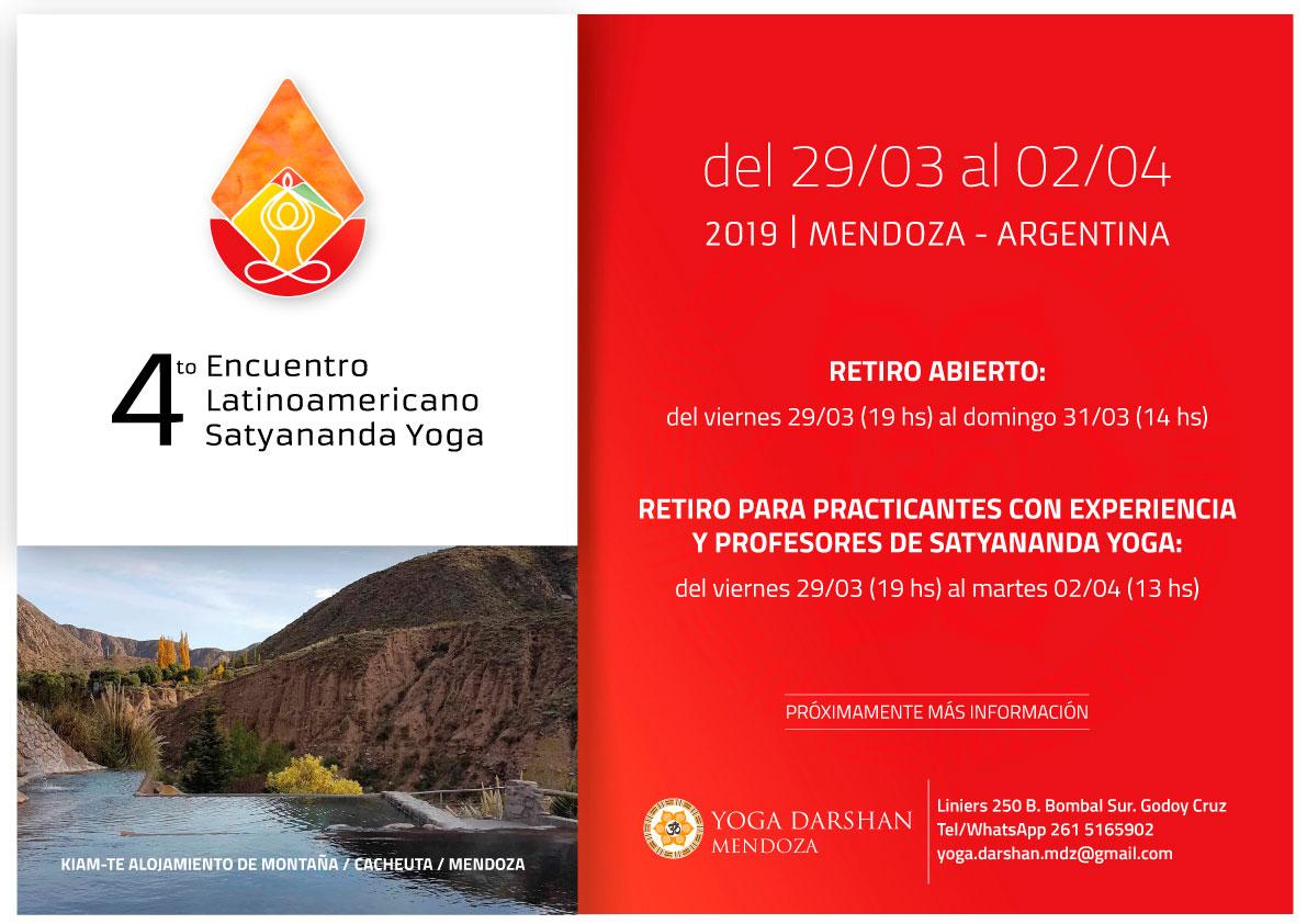 4to encuentro latinoamericano de Satyananda Yoga